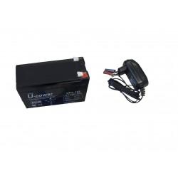 Pack bateria y cargador para Sondas, Chart Plotter y GPS 12V - 7AH
