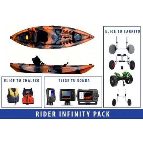 Pack Kayak de pesca Rider Infinity