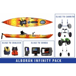 Pack Kayak de pesca Alborán Infinity