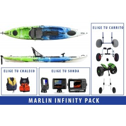 Pack Kayak de pesca Marlin Infinity
