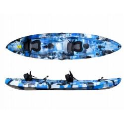 Kayak de pesca Galaxy Cruz Fisher Tandem