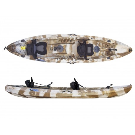 Kayak de pesca Galaxy Cruz Fisher Tandem