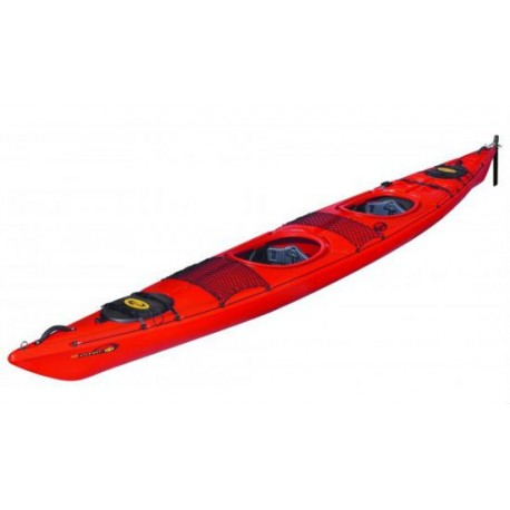 Kayak de travesía Dag Biwok Evo Hi-Luxe Con Deriva