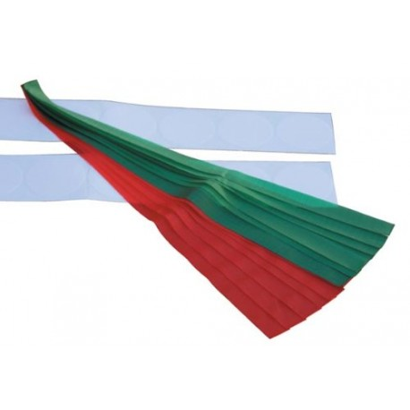 Air Flow Tels, Red / Green