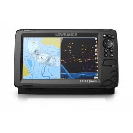 Sonda GPS Plotter Lowrance HOOK Reveal 9 HDI 50/200/Downscan 600w