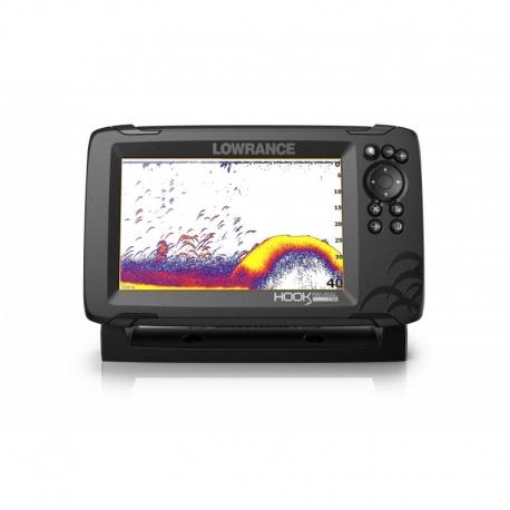 Editando: Sonda GPS Plotter Lowrance HOOK Reveal 7 HDI 50/200/Downscan 600w