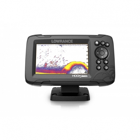 Sonda GPS Plotter Lowrance HOOK Reveal 5 HDI 50/200/Downscan 600w.