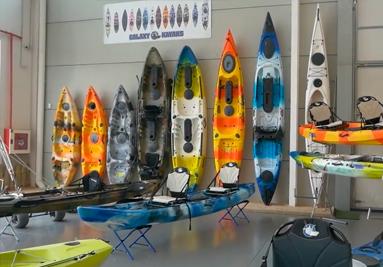 Tienda de venta de kayaks