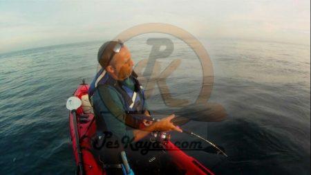 Pesca en kayaka