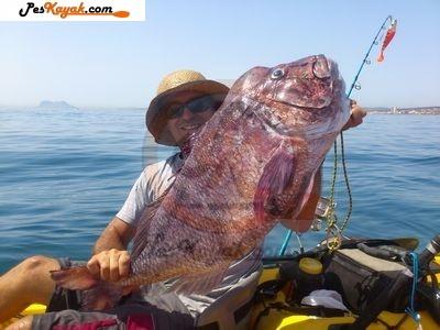 Kayak para pescar mero