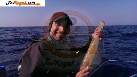 Modalidades de pesca en kayak