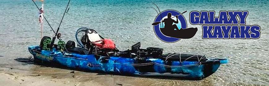 Kayaks de pesca Galaxy
