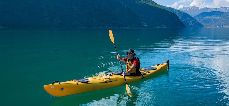 kayak de pesca para mar