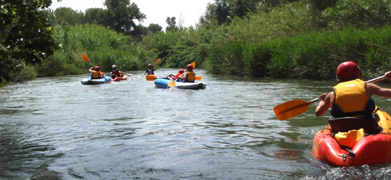 kayak de rio