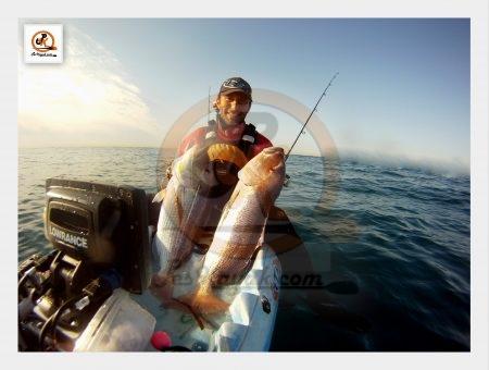 Pescar dentones desde kayak