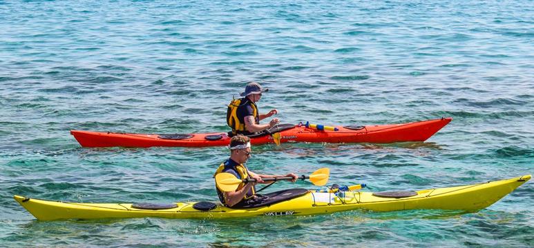 accesorios kayak de pesca