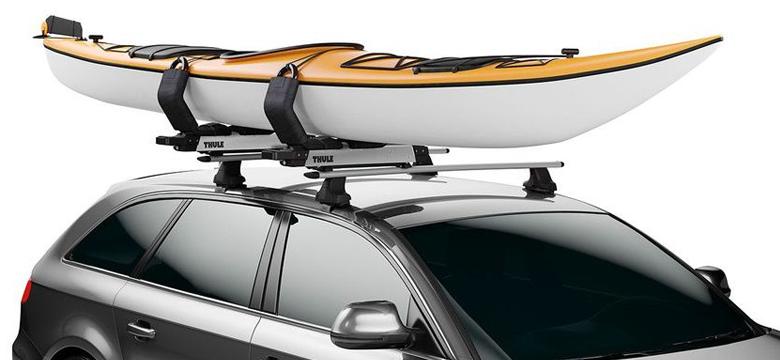transportar kayak de pesca