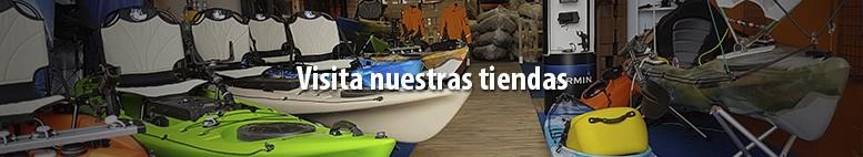 Tienda de kayak en Málaga